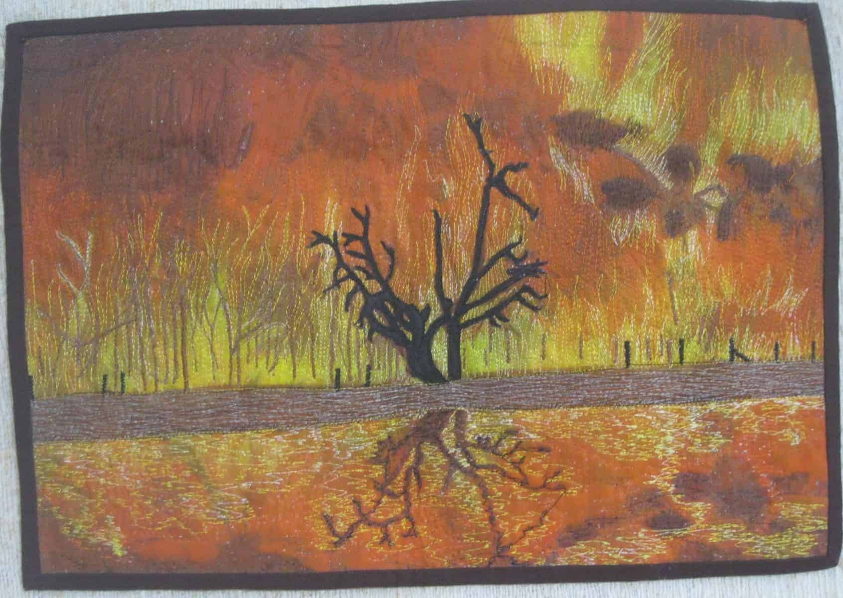 Bush Fire By Ailsa Koloi Full