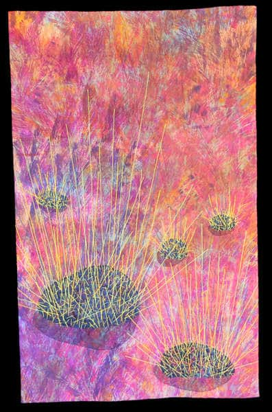 Cat 15 Open Art 1st Place 15.14 Spinifex Country By Sue Dennis