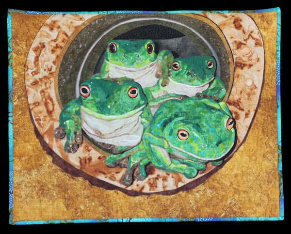 Cat 16 Open Pictorial Highly Commended 16.12 Tank Quartet By Joanne Dunglison